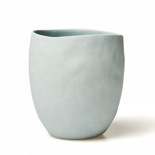 Home Republic Basque Organic Vase Light Blue, vase, homewares