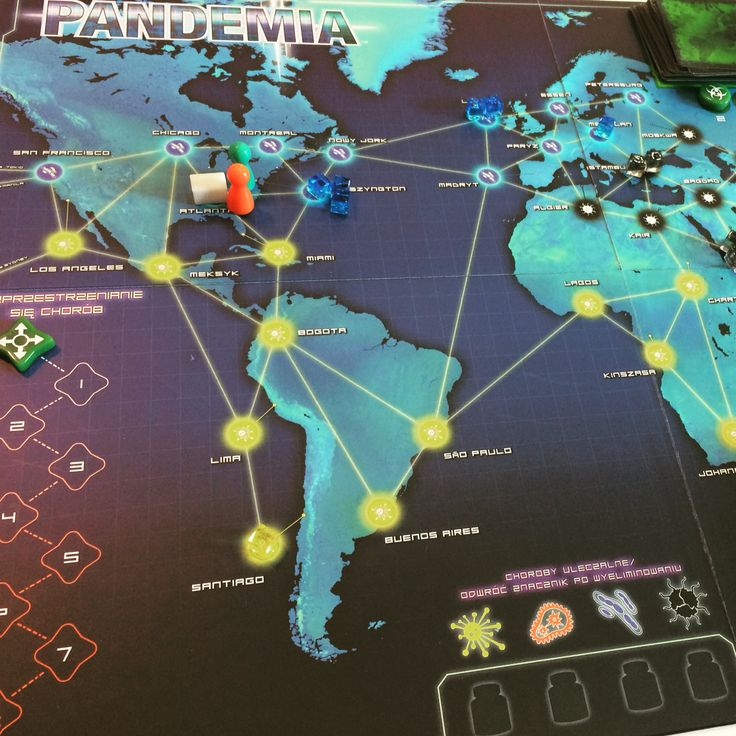 Pandemia - Boardgame / Gra planszowa