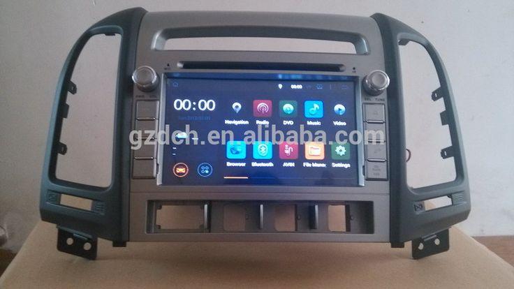 5.1 android car dvd radio for HYUNDAI SANTA FE 2006-2012 1024*600 quad core 1G+16G WS-9514