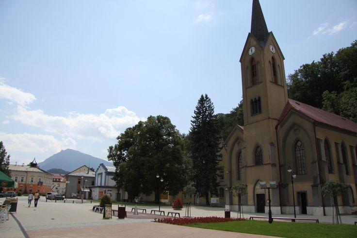 Evanjelický kostol augsburského vyznania Dolný Kubín 2013