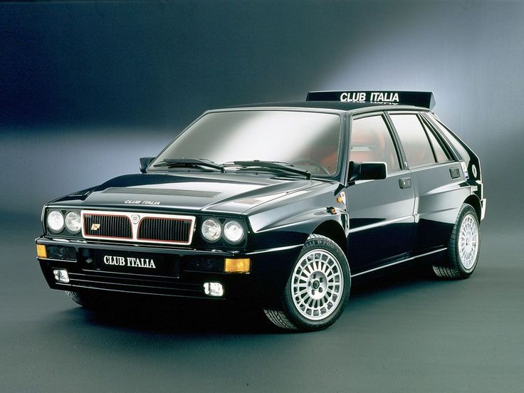 """1991 Lancia Delta HF Integrale Evoluzione """"Club Italia"""""""