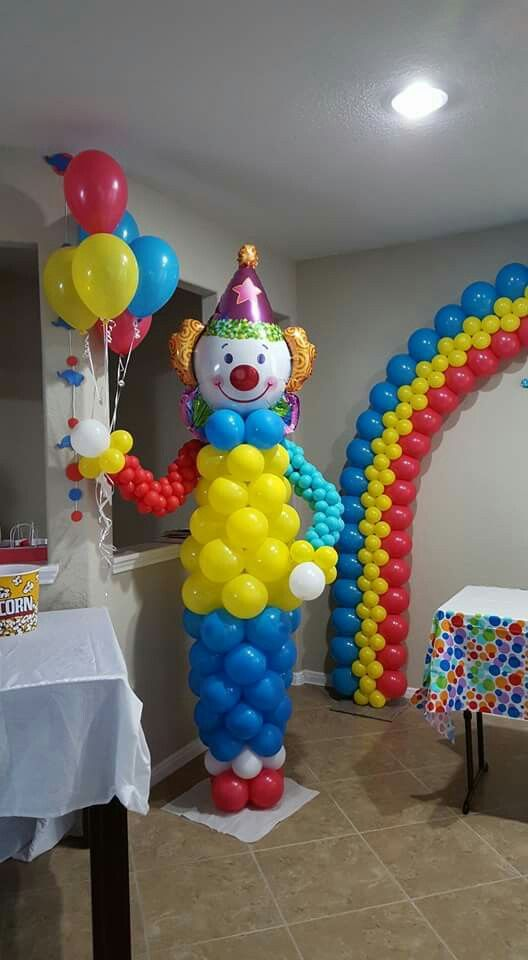 Clow balloon decoration