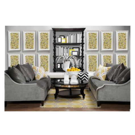 Odeon Rug   Grey/Citrus From Z Gallerie
