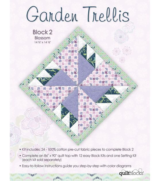 17 best images about garden trellis quilt on pinterest for Garden trellis designs quilt patterns