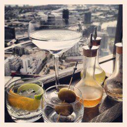 The Lui Bar - Melbourne Victoria, Australia. Martini service at its best.