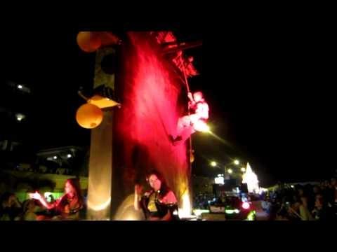 Video: Desfile del Carnavál Mazatlán 2012