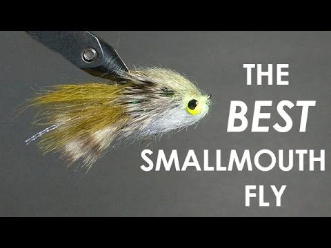 Tying The BEST Smallmouth Bass Fly (Step-by-Step + Underwater Footage) - YouTube