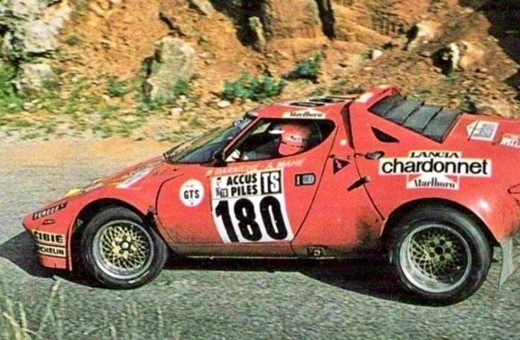 Lancia Stratos Darniche Mahe tour de France