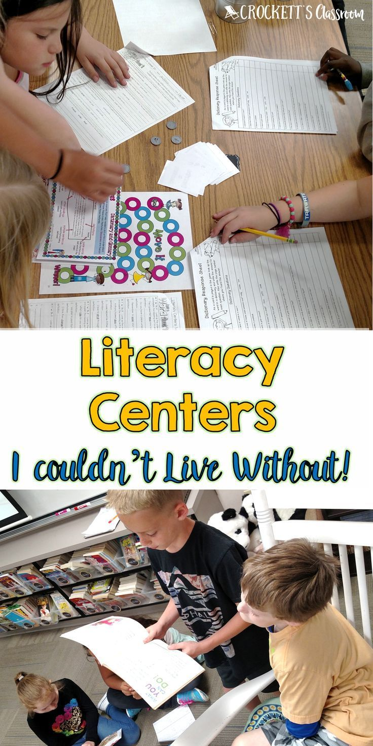 Your time is precious,  That's why it is so important to choose only the most effective literacy centers for your classroom.