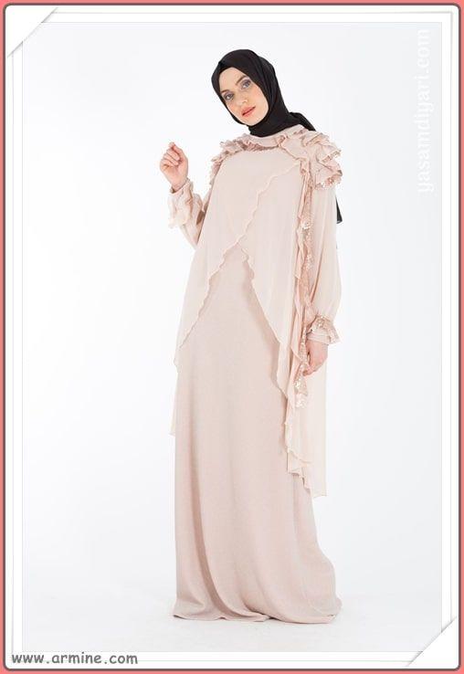 84892c6ec3d57 Armine Tesettür Abiye Modelleri 2019 Lookbook | Tesettür Abiye Modelleri |  Elbise modelleri, Moda, Abayalar