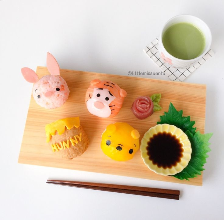 4. Winnie the Pooh Sushi - Little Miss Bento's 5 Best Sushi Recipes #Sushi #Washoku #food #Japan #AllAboutJapan
