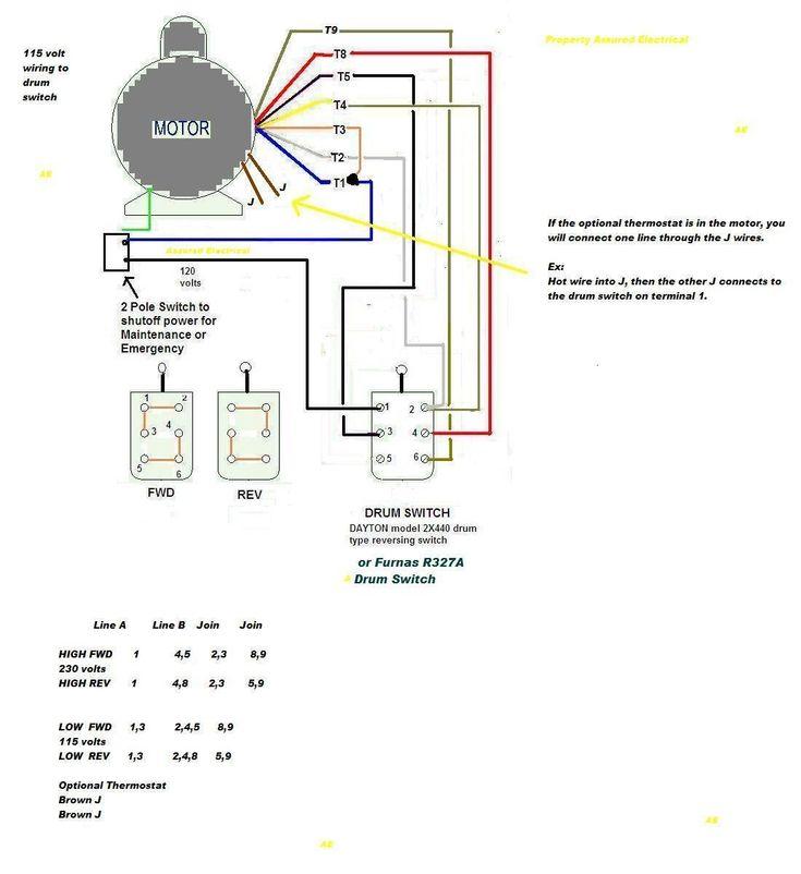 Lead Single Phase Motor Wiring Diagram, Baldor Motor Wiring Diagrams Single Phase