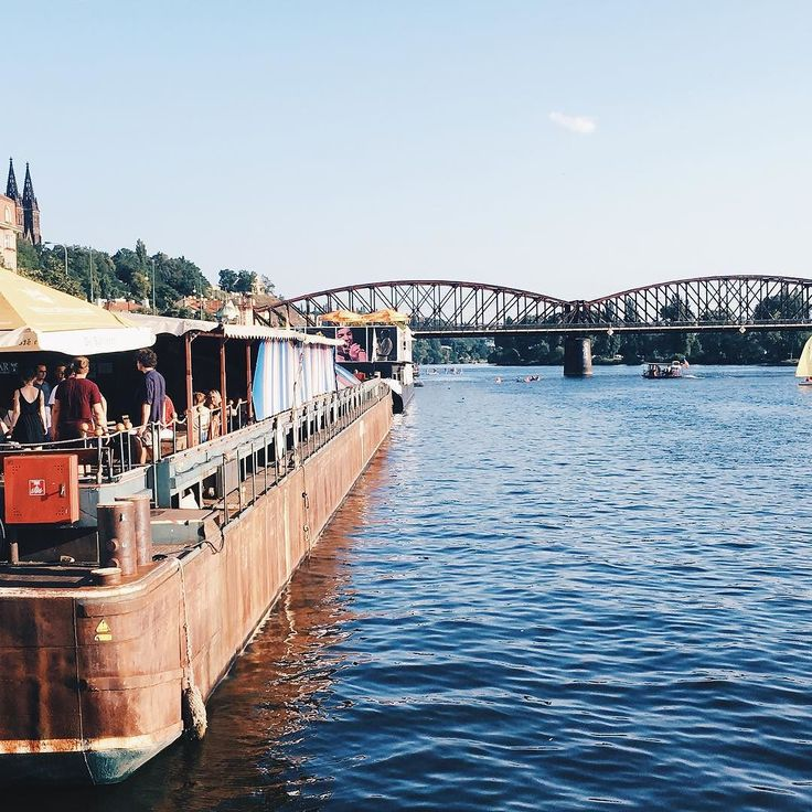 There is this awesome boat on Naplavka in #Prague that has live music amazing food and of course delicious beer. - - - - - - - - - - - - - - - - - - - - #travel #travels #traveler #praha #praga #czech #czechrepublic #czechia #river #boat #boatparty #lifestyleblogger #kyliejenner #kendalljenner #travelgram #prague2017 #pragueparty #praguegram #praguetoday #naplavka #water #scene #view #travelblogger #praguegirls