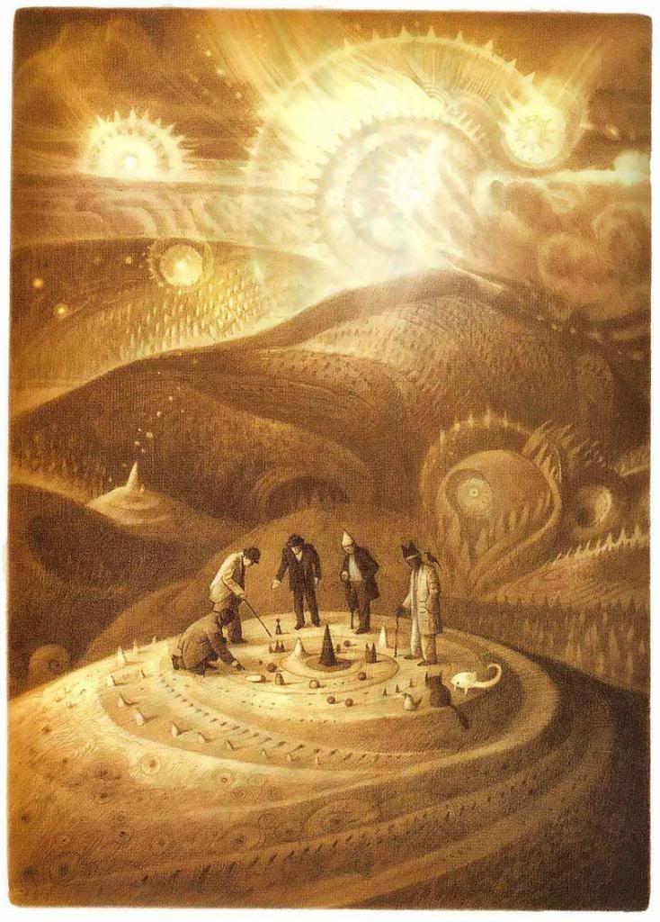 çizgili masallar: The Arrival by Shaun Tan / Sacred Geometry <3