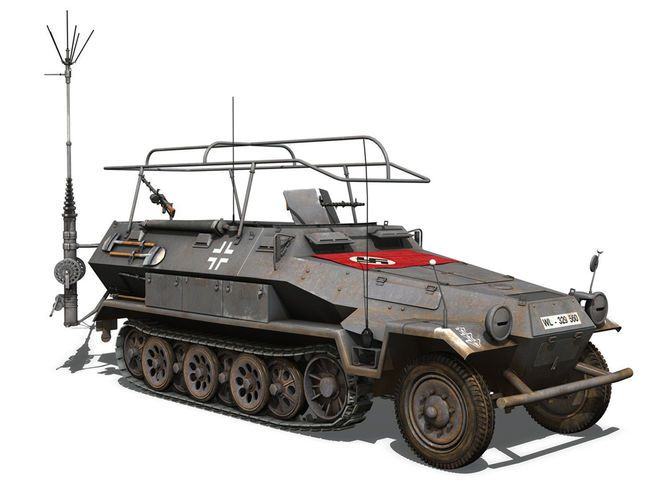 SD KFZ 251 3 IV Ausf A - Radio and Command...