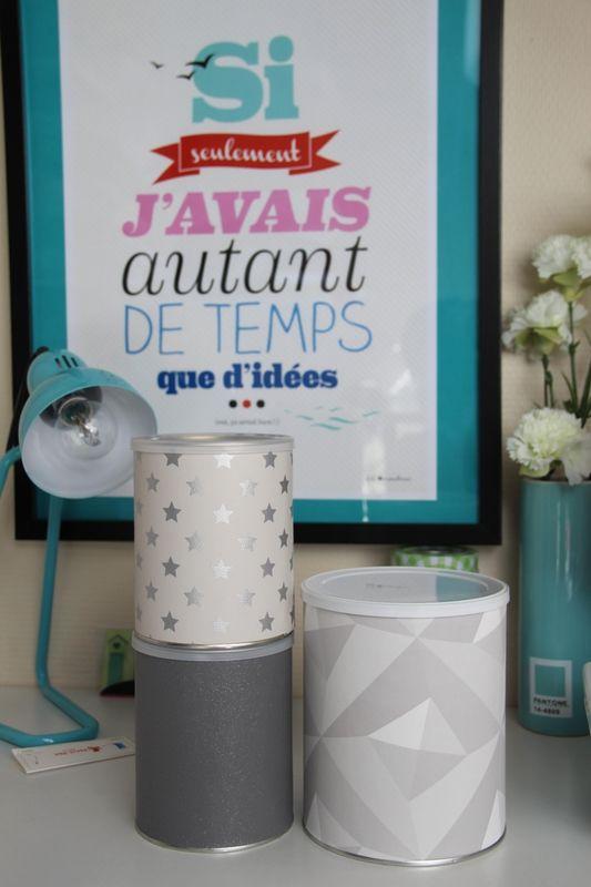 De jolies boites ... de lait! DIY inclus!