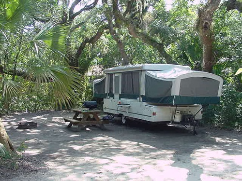 Fantastic Wooded Campsite Have To Book Early At Anastasia