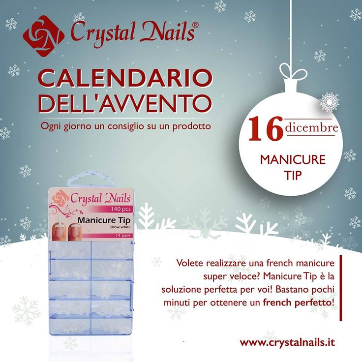 Calendario dell'avvento Crystal Nails - 16  dicembre #crystalnails #manicuretip
