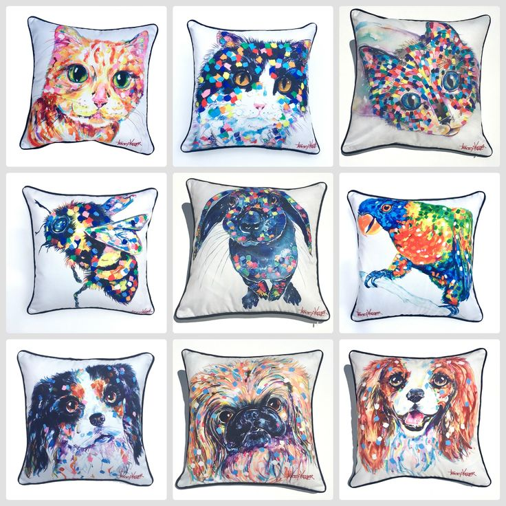 Tracey Keller outdoor cushion cover