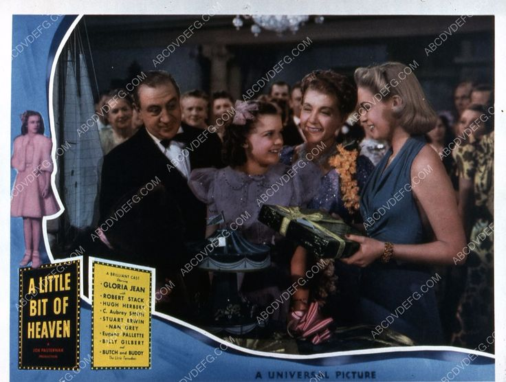Gloria Jean film A Little Bit of Heaven 35m-5347