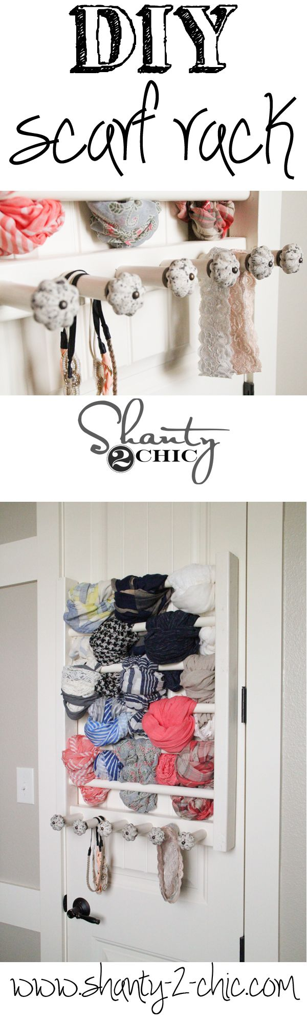 Best 25+ Scarf rack ideas on Pinterest