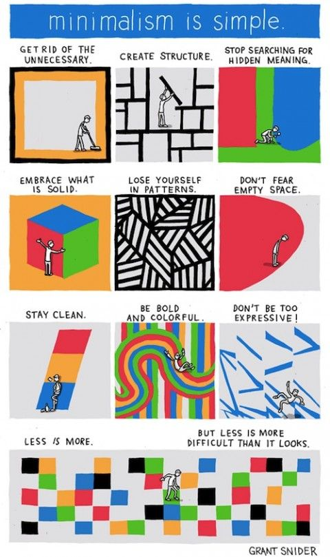 How to be a minimalist!