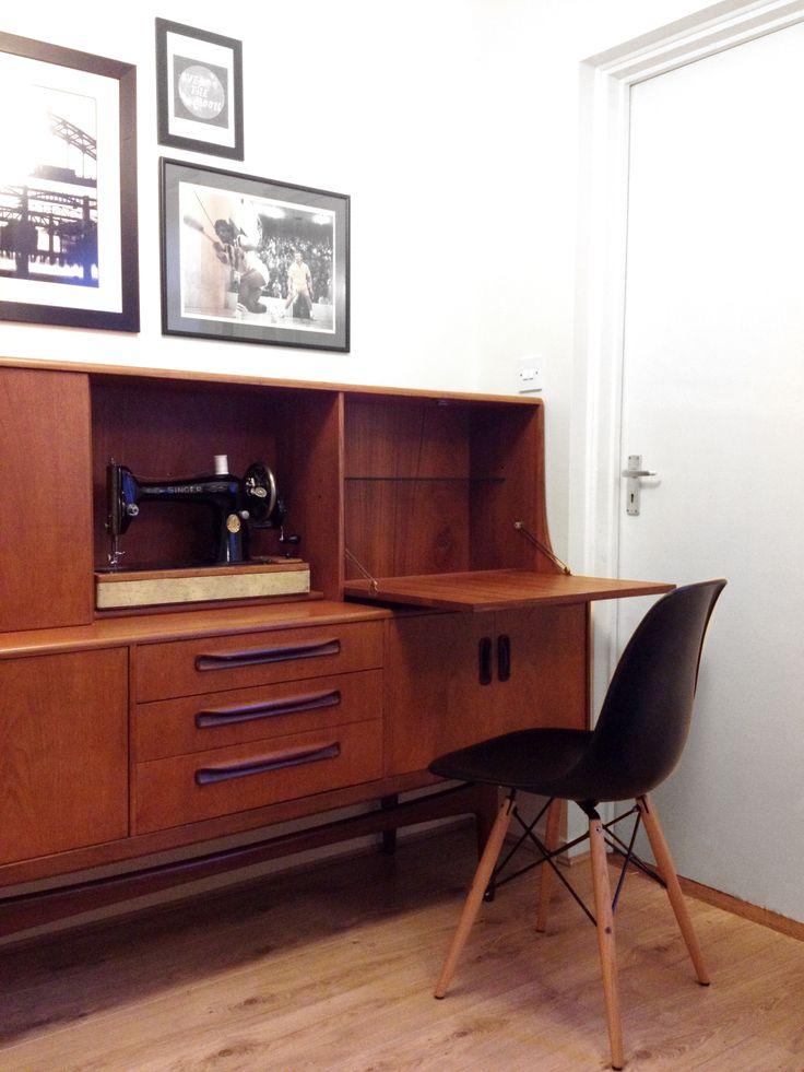 Sideboard, Retro, Eames, Singer