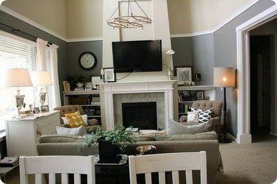 High chair rail | Living room ideas | Pinterest | Abs, Living room colors  and Colors - High Chair Rail Living Room Ideas Pinterest Abs, Living Room