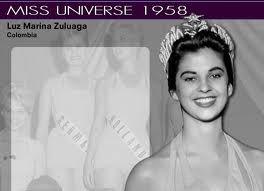 miss universo 1958 colombiana luz marina zuluaga - Buscar con Google