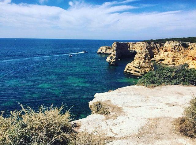 Algarve - Praia da Marinha #algarve #portogallo #portugal #visiting #travel #traveling #beach #sea #summer https://susannaballerini.wordpress.com/2016/11/15/algarve/