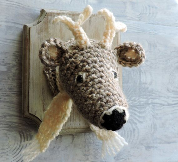 1000+ Images About Crochet Taxidermy On Pinterest
