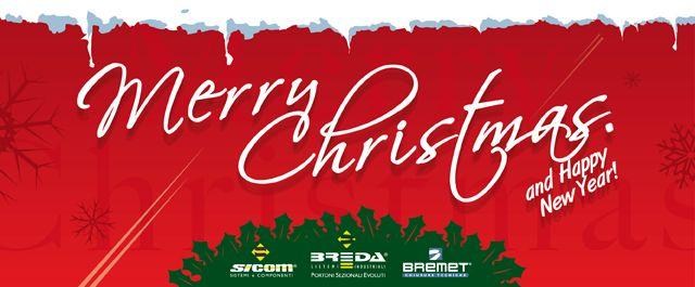Breda Is... Christmas!!! Buon Natale e Felice Anno nuovo dalla Rete Vendita Breda (i meno timidi )    diBreda Portoni - Redazione    Auguri Natale rivenditori