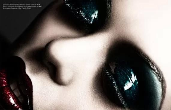 Magazine: Vestal Mag Title: Blood Diamond Photographer: Ruben Kristiansen