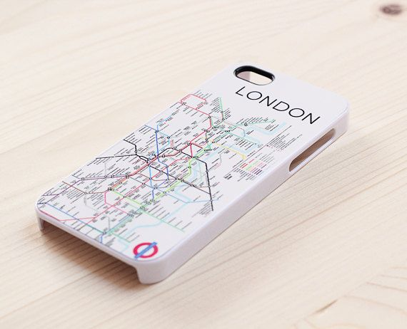 London underground map iPhone 5 case iPhone 4 case by AnotherCase