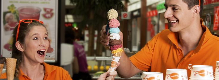 #fruitisimo #freshjuice #smile #healthy #orange #funny #icecream