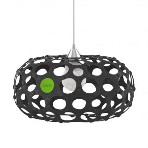 This contemporary black lampshade forms part of the Award Winning Korol home décor range. It is eco-friendly! Available in diff colors. Purchase it from www.wave2africa.com