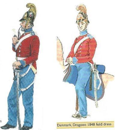 Danish dragoon 1848
