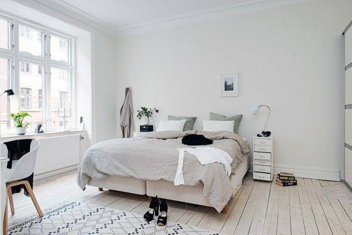 Scandinavian furniture of Fürs bedroom