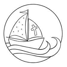 Bildergebnis für mit jesus in einem boot erstkommunion bilder