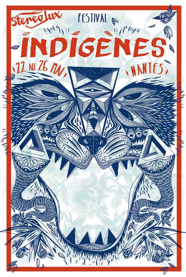 Festival Indigènes. Du 22 au 26 mai 2014 à Nantes.