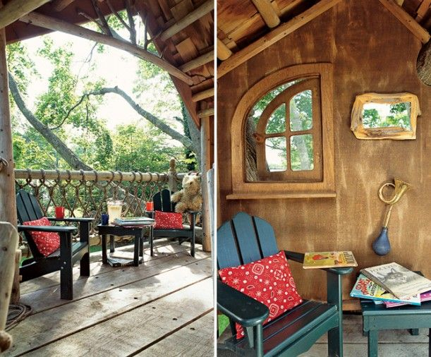 kids tree house inside - Kids Treehouse Inside