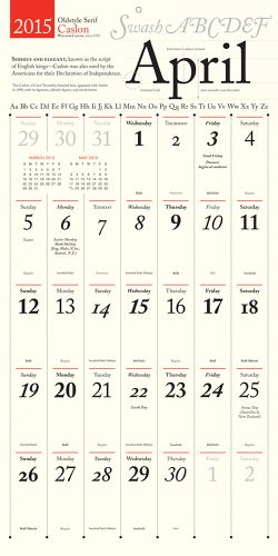 Calendar For Typography Nerds : Best typography typeface pairings images on pinterest