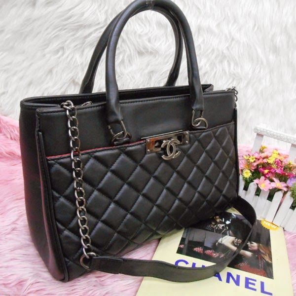 TAS MURAH IRFA' HEIRAH BAG'SHOP: CHANEL OFFICE BEHEL 3RUANG/CHANEL-B3387