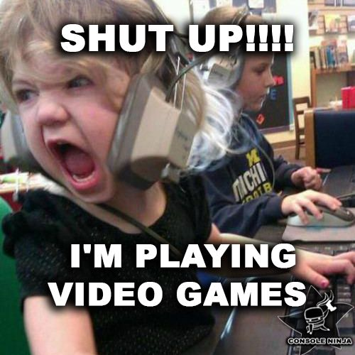 We all know that feeling, which is why #consoleninja offers a fast, and often on-the-spot #videogame repair service  #angrygirl #gameover #shutup #funny #mems #gameconsole