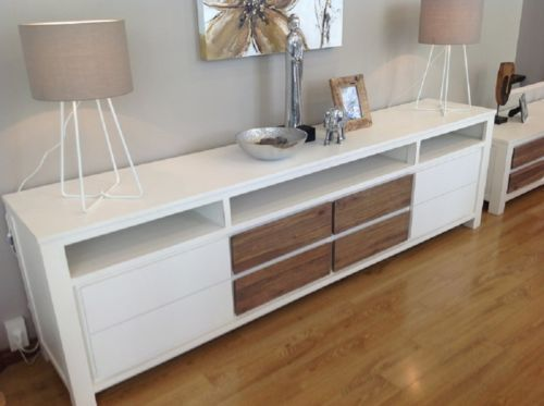 White French Look TV Unit | eBayb  $1000 something like this for the tv cabinet