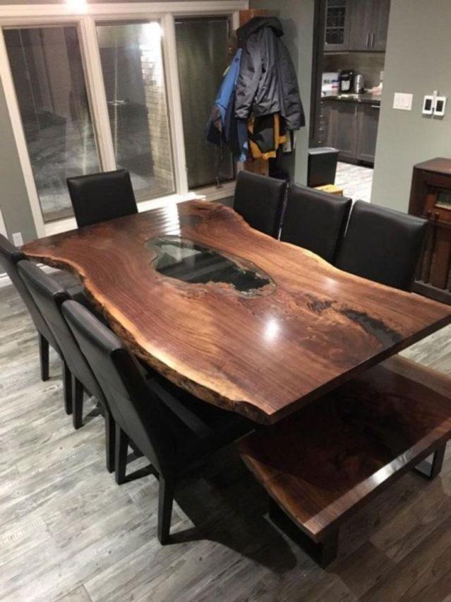 Unique Dining Table Design With Wood 31 Unique Dining Tables Live Edge Dining Table Dining Table Design