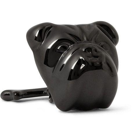 Alfred DunhillBulldog Metal Cufflinks