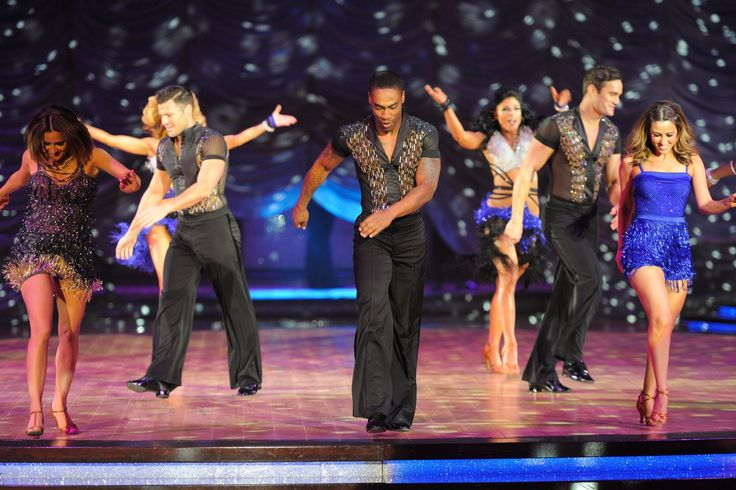 Denise Evans was at the Strictly Come Dancing tour to see the stars strut their stuff in person