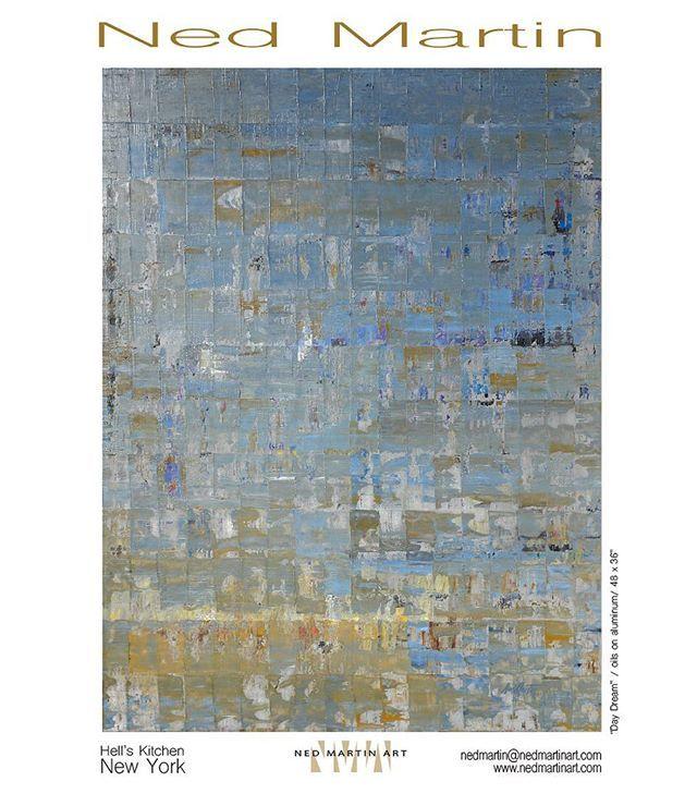"""Daydream"" #abstractpainting #abstract #oil #oils #oilpainting #newyork @NedMartinArt"