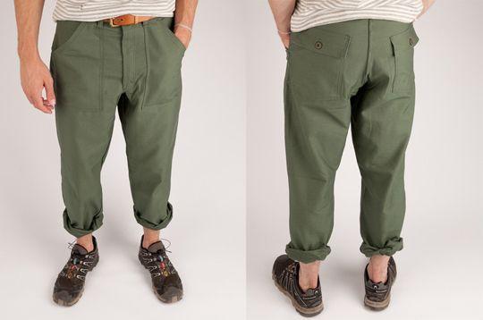 Earl's Apparel Fatigue Pants – Olive Drab